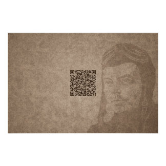 QR Wise Quote #1 Poster