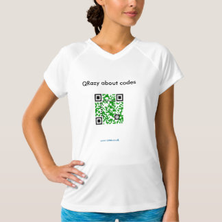 QRazy about codes, www.qrme.co.uk - Ripple T-Shirt