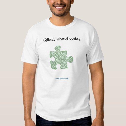 QRazy sobre códigos - rompecabezas Poleras