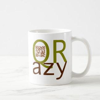 QRazy such an aileron code Classic White Coffee Mug