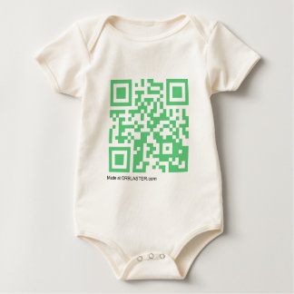 QRBlaster QRCode Products Baby Bodysuit