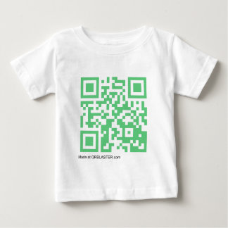 QRBlaster QRCode Products Baby T-Shirt