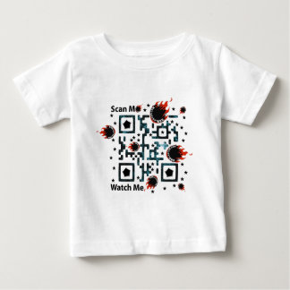 QRBlaster QRCode Products Infant T-shirt