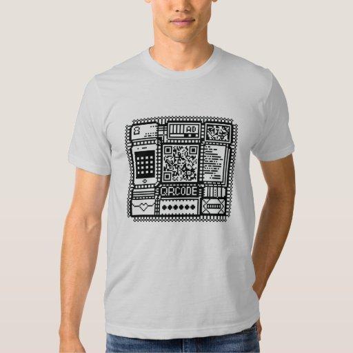 QRcode illust tee shirts
