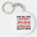 QRcode keychain