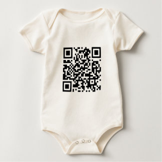 QRcode Make the world a better place with your.... Baby Bodysuit