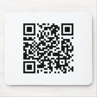 QRcode Make the world a better place with your.... Mouse Pad
