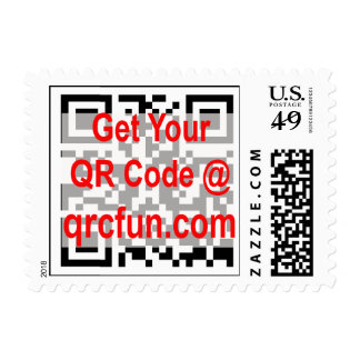 QRCODE postage stamp