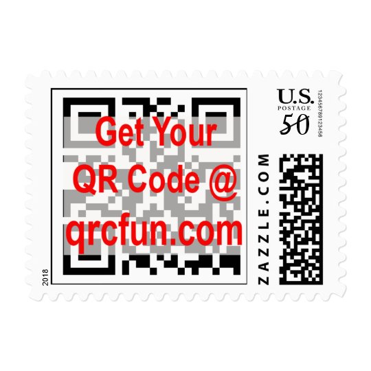 QRCODE postage stamp