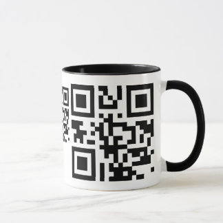QRCode Spray Paint Mug Template