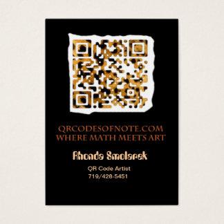 QRCodesOfNote.com Business Card