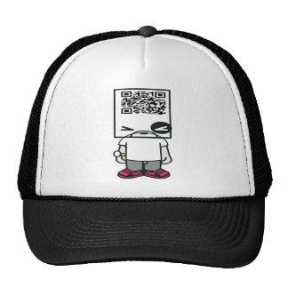 qrhead trucker hat