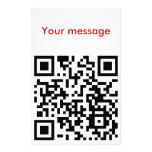 qrHowGeeksSay Papelería Personalizada