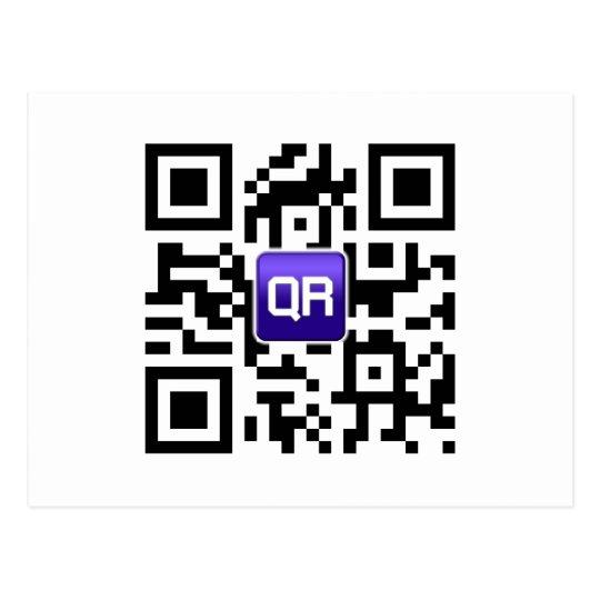 QRinator.com Custom QR coded accessories Postcard
