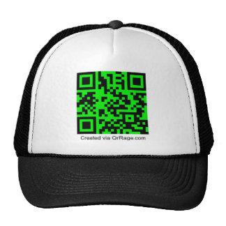 QrRage.com-Custom QR Code Generator Mesh Hat