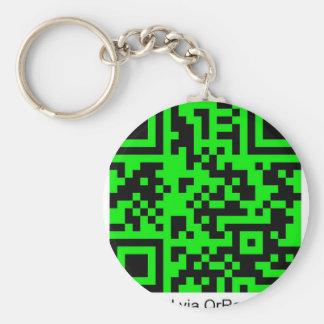 QrRage.com - generador de código de encargo de QR Llavero Redondo Tipo Pin