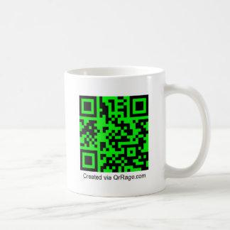 QrRage.com - generador de código de encargo de QR Taza De Café