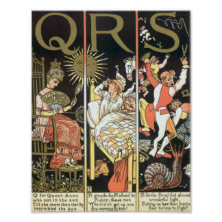 QRS Absurd Print