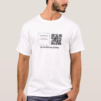 QRstuff.com de encargo camiseta del código de QR