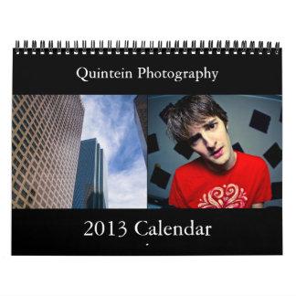 q's portfolio 2013 Calendar