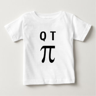 QT Pi Cutie Pie Baby T-Shirt