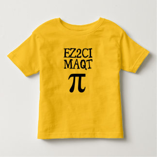 QT Pi  Cutie Pie Toddler T-shirt