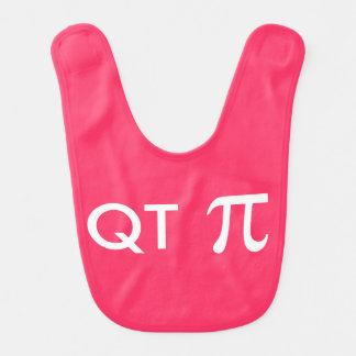 QT Pi Geeky Baby Bibs