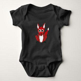 QtC Fox Baby Jersey Uni Suit Baby Bodysuit