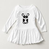 QtC Panda Toddler Dress