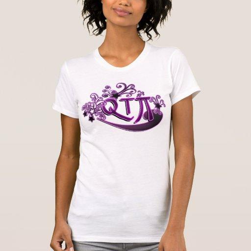 QTPi Phonetic Cutie Pie ie Pretty Girl T-shirt