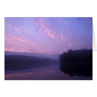 Quabbin Reservoir Potapaug Pond Card