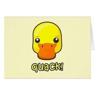 Quack! Duck Card