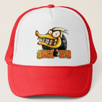 Quack-Head-shirt Trucker Hat