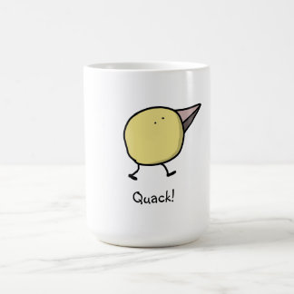Quack-o-Mug Classic White Coffee Mug