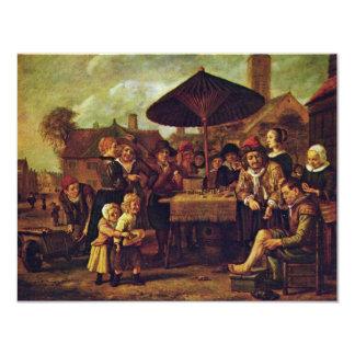 Quack On The Market By Victors Jan 4.25x5.5 Paper Invitation Card