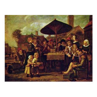 Quack On The Market By Victors Jan Postcard