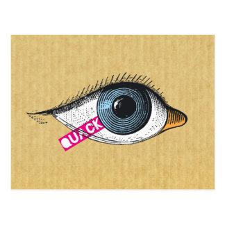 Quack postcard
