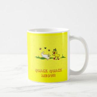 Quack Quack Meow mug