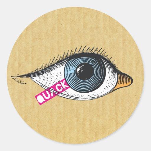 Quack sticker