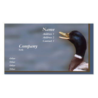 Quack up Double-Sided standard business cards (Pack of 100)