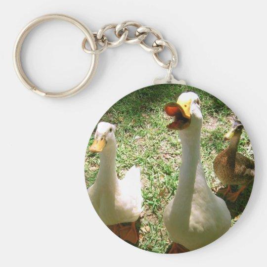 Quacking Ducks Keychain