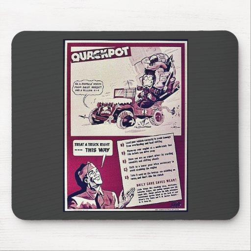 Quackpot Mouse Pad