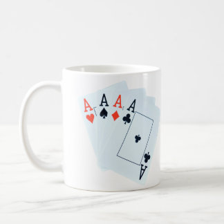 Quad_Aces_White_Coffee_Mug Coffee Mug