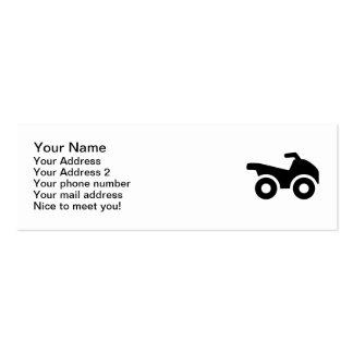 Quad ATV Business Cards