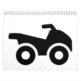 Quad ATV Wall Calendar