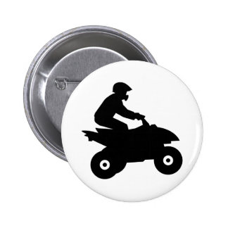 Quad ATV Pinback Button