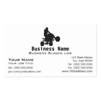 Quad / ATV Silhouette Business Card