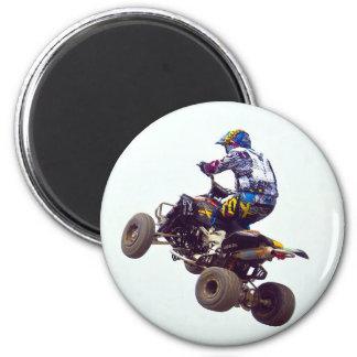 quad bike 2 inch round magnet