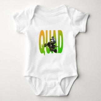 quad bike baby bodysuit
