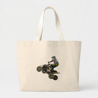 quad bike tote bag